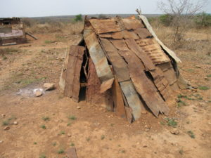 "Another ""hut"" in Matabeleland"