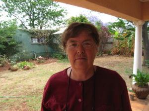 Mary Ndlovu, local human rights worker