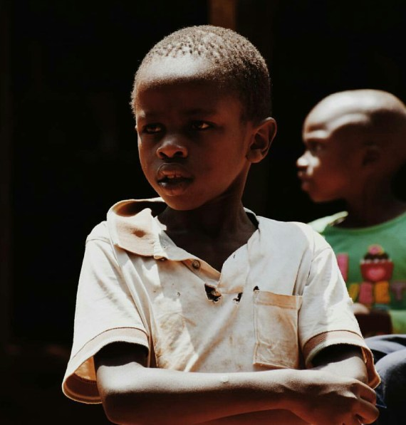 Kenyan street children