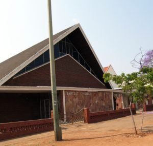 Local Baptist church in Bulawayo