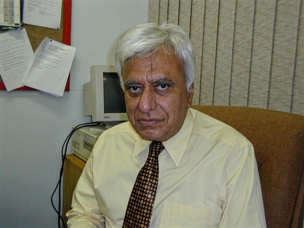 Professor Hoosen Mahomed (Jerry) Coovadia
