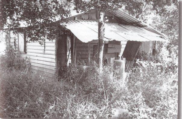The shack from where Radio Euskadi broadcast in Venezuela