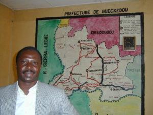 Mamadouba Tounkara, prefect of Guéckédou