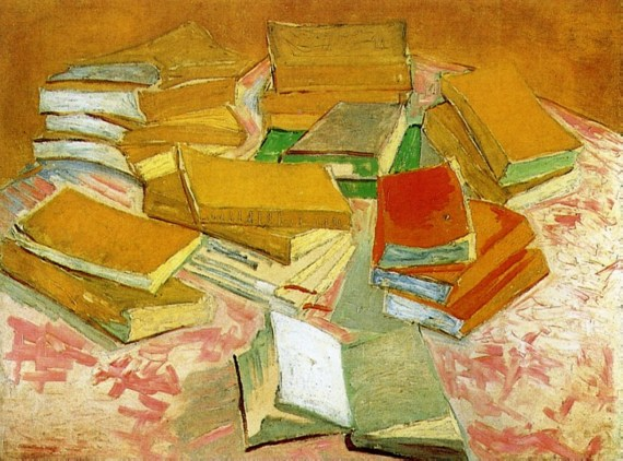 Vincent van Gogh-Painting of French Novels, 1887 (Van Gogh Museum, Amsterdam)
