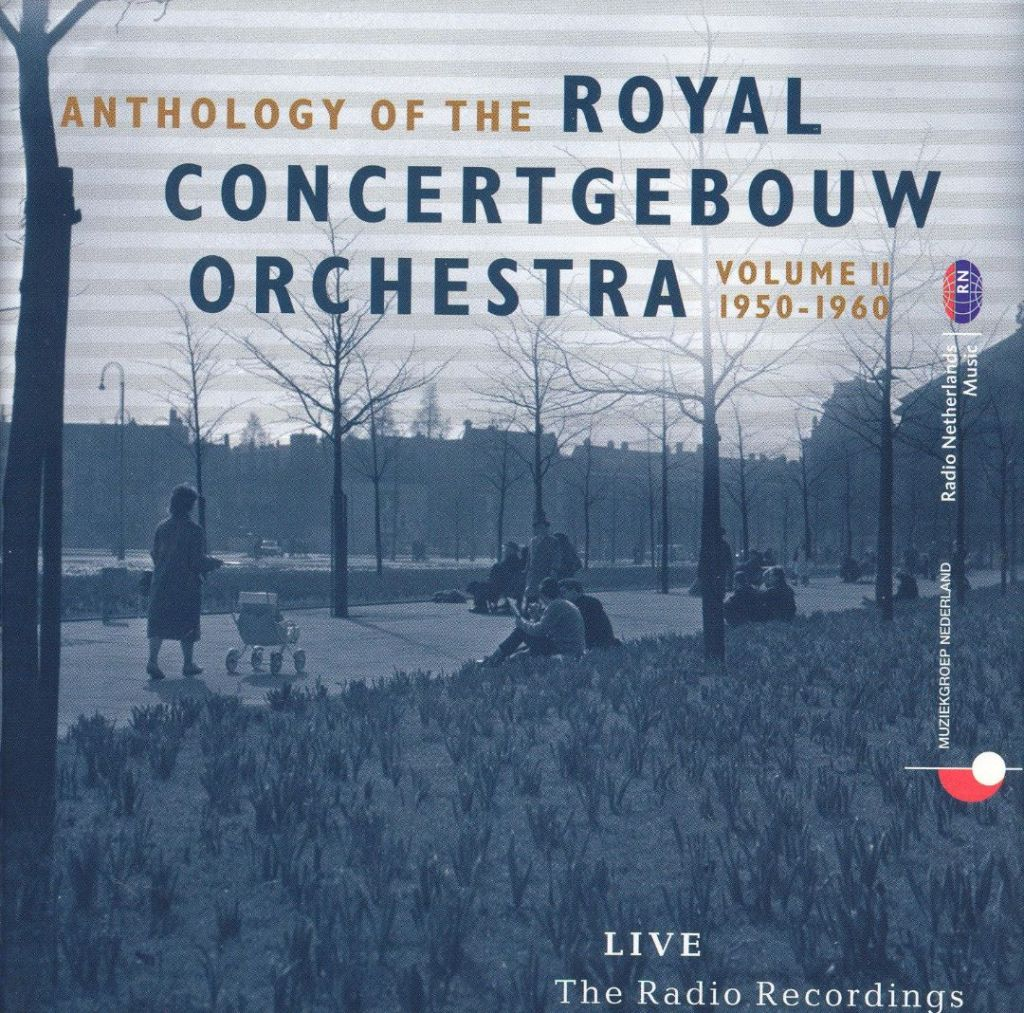Cover of Radio Netherlands CD box of live recordings of Concertgebouw Orchestra