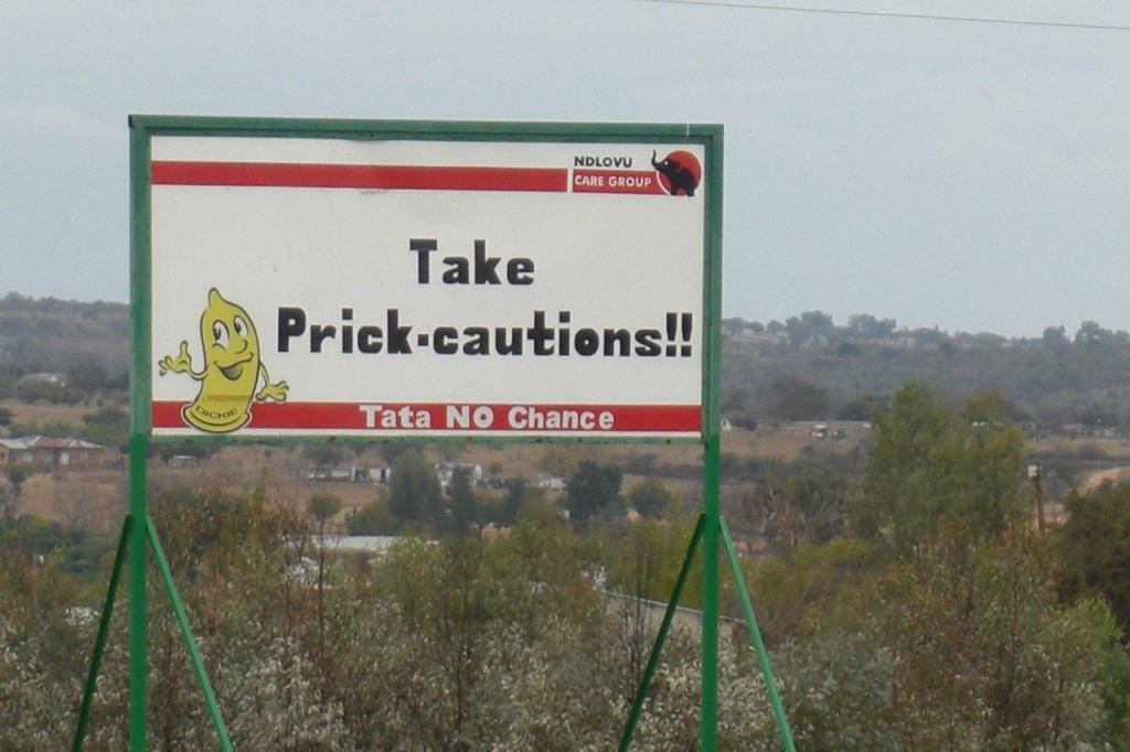 Condom valley, Limpopo Province, South Africa