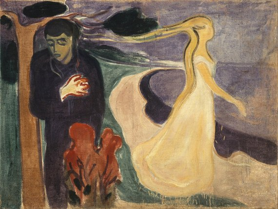Separation, painting by Edvard Munch, 1896 (Munch Museum in Oslo, Norway)
