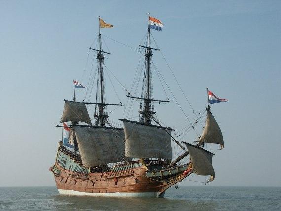 A replica of the Batavia in 2007