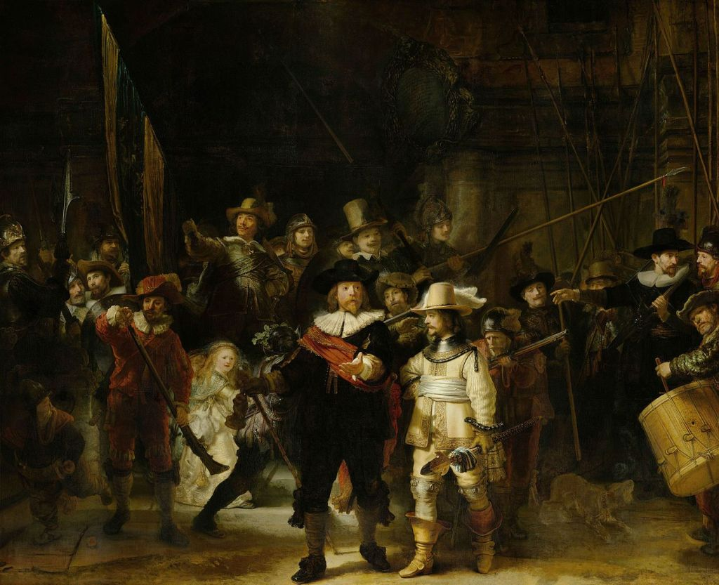 The_Nightwatch_by_Rembrandt, 1642