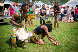 Cameroon dancing