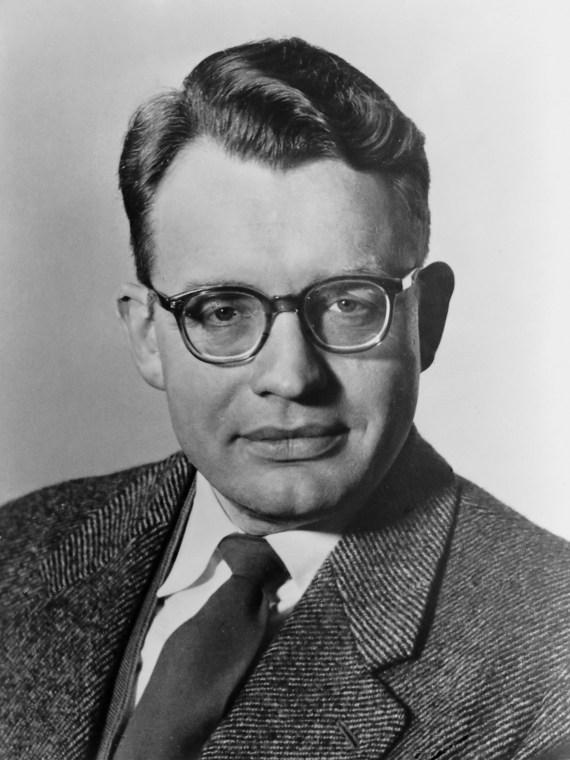 Prof. Dr. H. B. G. Casimir , lid Raad van Bestuur *29 oktober 1958