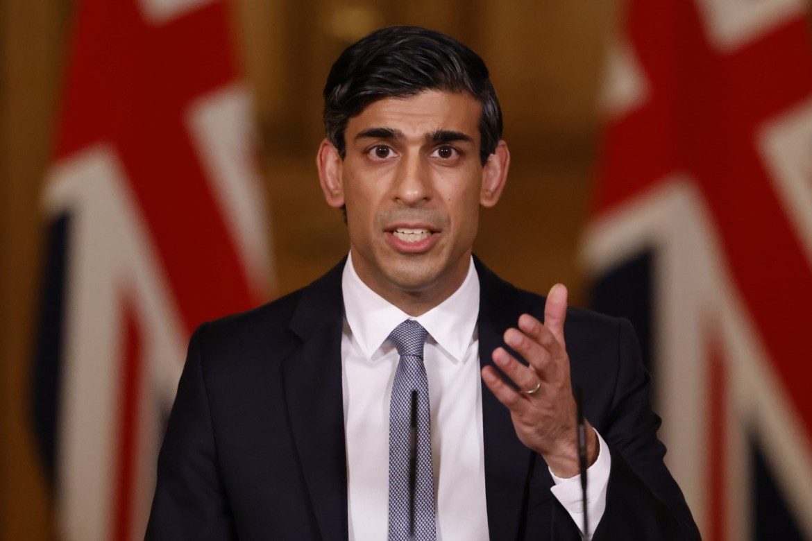Two text messages from Chancellor Rishi Sunak to former prime minister David Cameron have been published