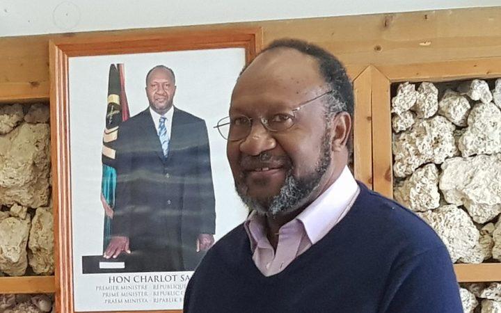 Prime Minister of Vanuatu Charlot Salwai