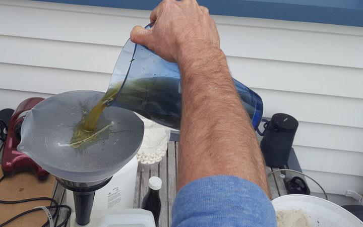 Taranaki man with cancer makes his own cannabis oil