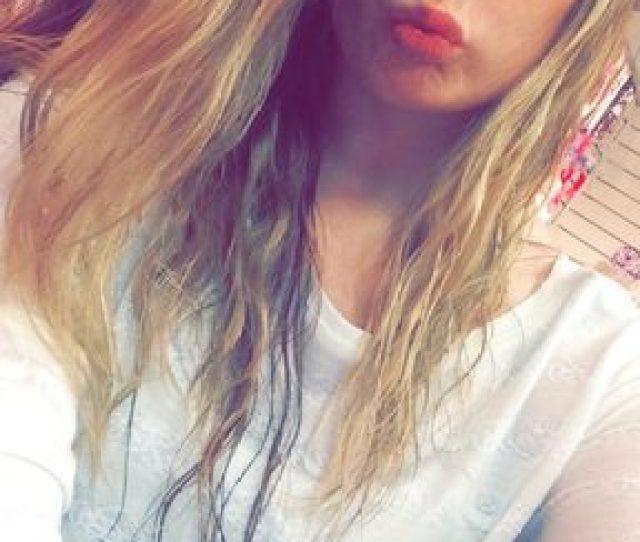 Blonde Teenager Selfie