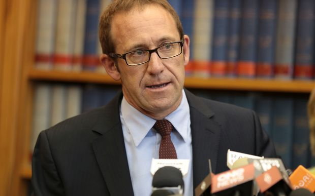 Andrew Little has been announced as the new Labour Party leader.
