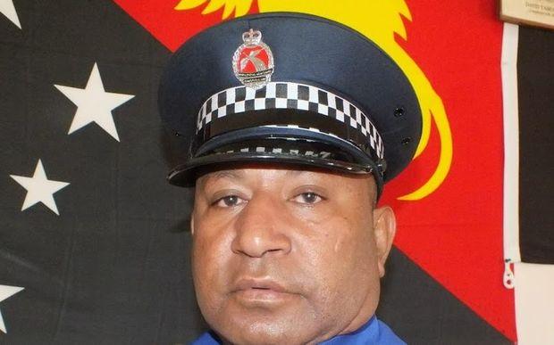 Enga Provincial Police Commander Superintendent George Kakas.