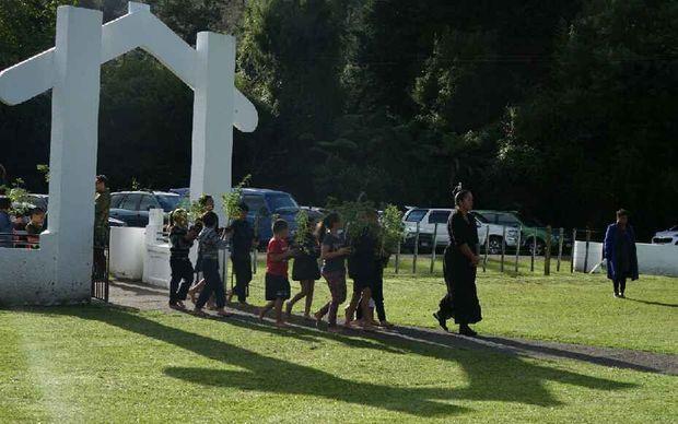 The ngutukākā homecoming at Te Reinga Marae, Wairoa