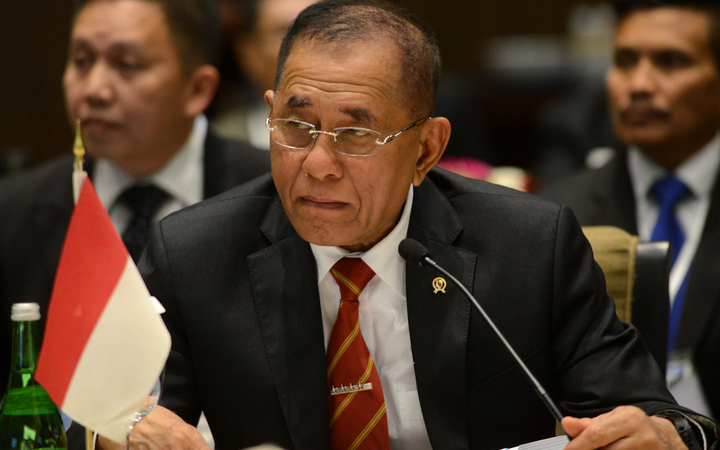 Indonesia's Defence Minister for Pacific countries says Indonesia is a sleeping tiger that can attack if disturbed. Photo: AFP