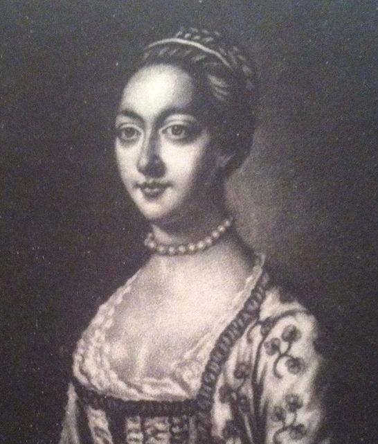 An 18th-century portrait of Peg Plunkett