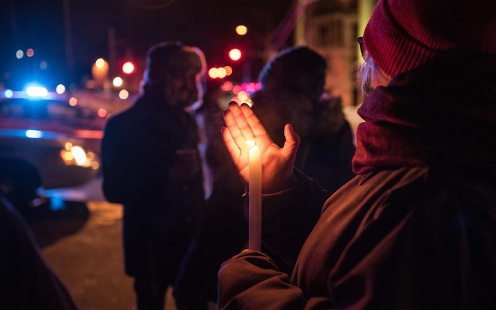 quebec mosque shooting candle