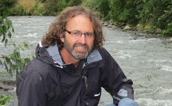 Fresh water ecologist Mike Joy