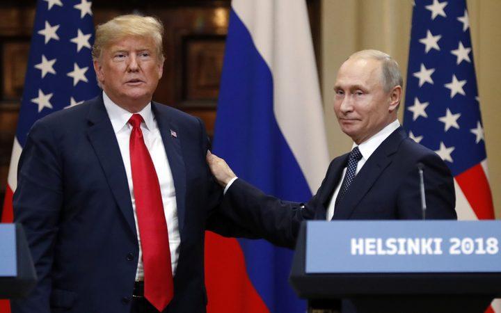 Trump-Putin summit: Russian leader attacks US critics of ...