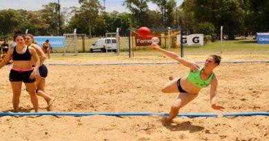 El Parque Sarmiento se fortalece a nivel nacional por la Liga Metropolitana de Beach Handball