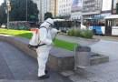 Ciudad: Intensificaron la limpieza en las calles y cerraron 59 accesos