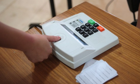 Recadastramento Biométrico em Santa Terezinha causa transtorno aos eleitores