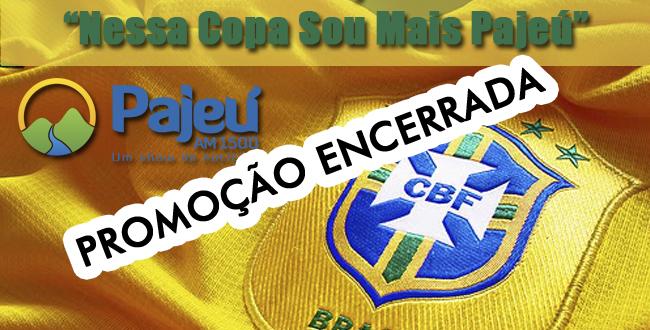 """Promoção """"Nessa Copa sou mais Pajeú"""". Ganhe camisa da seleção ou do clube do seu coração"""