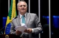 Renan anuncia que deixa liderança do PMDB no Senado