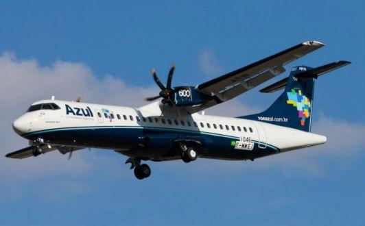 Azul define dias da rota Recife-Serra Talhada a partir de 28 de outubro