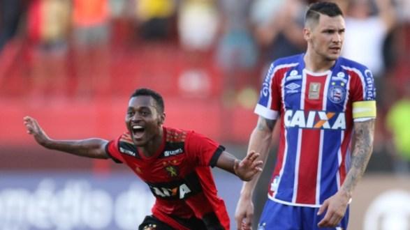 Sport volta a vencer, freia sequência do Bahia e fica vivo na luta contra queda
