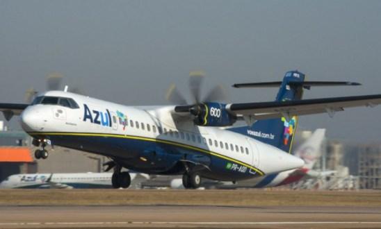 Conheça o ATR 72-600, que vai operar na rota Serra Talhada-Recife pela Azul