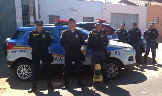 Guarda Municipal de Tabira chama a atenção de Paulo Câmara