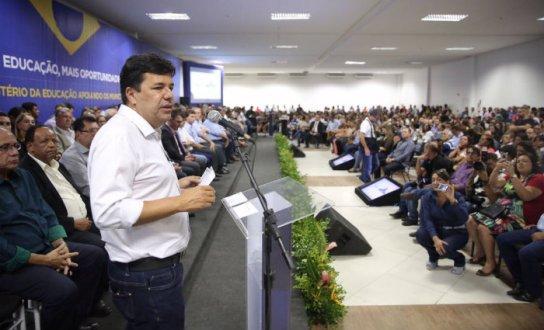 Prefeitos do Pajeú no lançamento do FNDE em Ação realizado em Gravatá