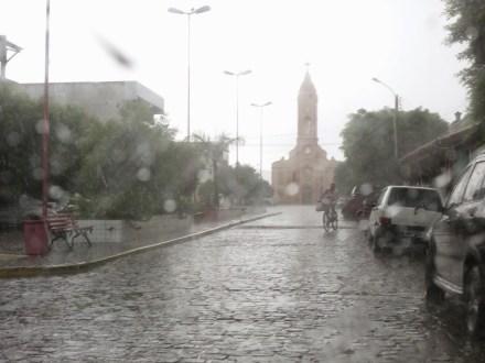Carnaíba registra maior chuva da última década