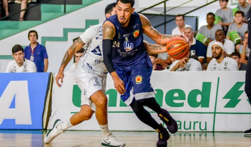 São José Basketball toma sufoco, mas vence o Botafogo e já é o sexto no NBB