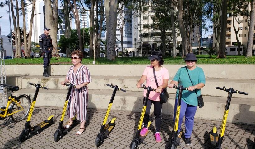 Serviço de patinetes compartilhados é lançado em São José dos Campos