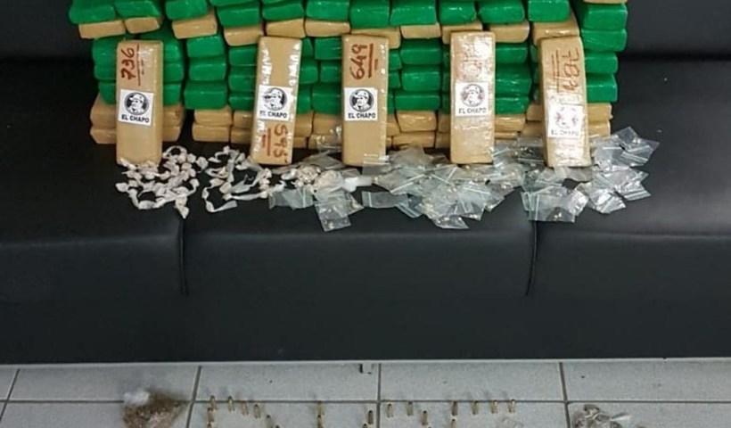 Polícia apreende 87 kg de maconha em São José dos Campos