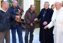 Papa senzatetto