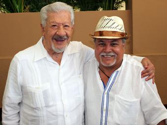 Don Ignacio López Tarso y Colibrí Maldonado.