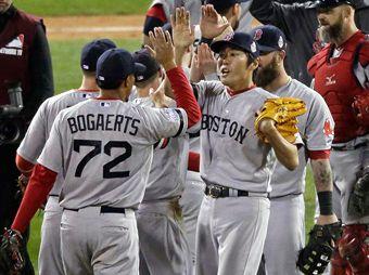 Medias Rojas de Boston se pone a un paso del campeonato