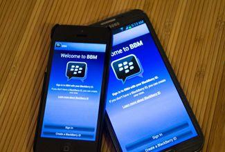 Reportan 10 millones de descargas del BBM para Android y iPhone