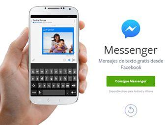 Facebook lanza nueva versión de su messenger