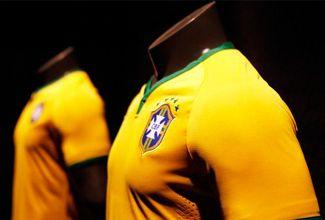Brasil no podrá estrenar su nueva playera