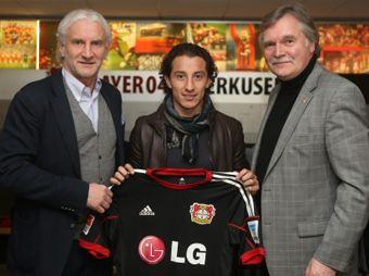 Andrés Guardado jugará en el Bayer Leverkusen