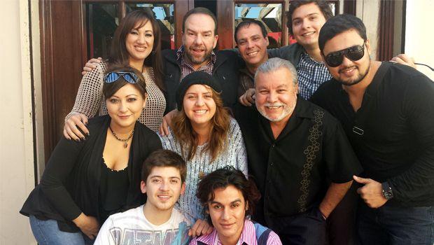 """El elenco de la película """"El  Llanto de Magdalena""""."""