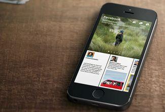 """Facebook presenta """"Paper"""", su aplicación tipo Flipboard"""
